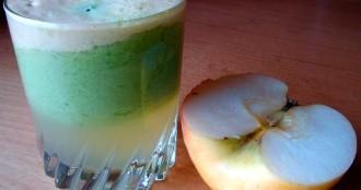 Jugo mineralizante de manzana para bajar de peso